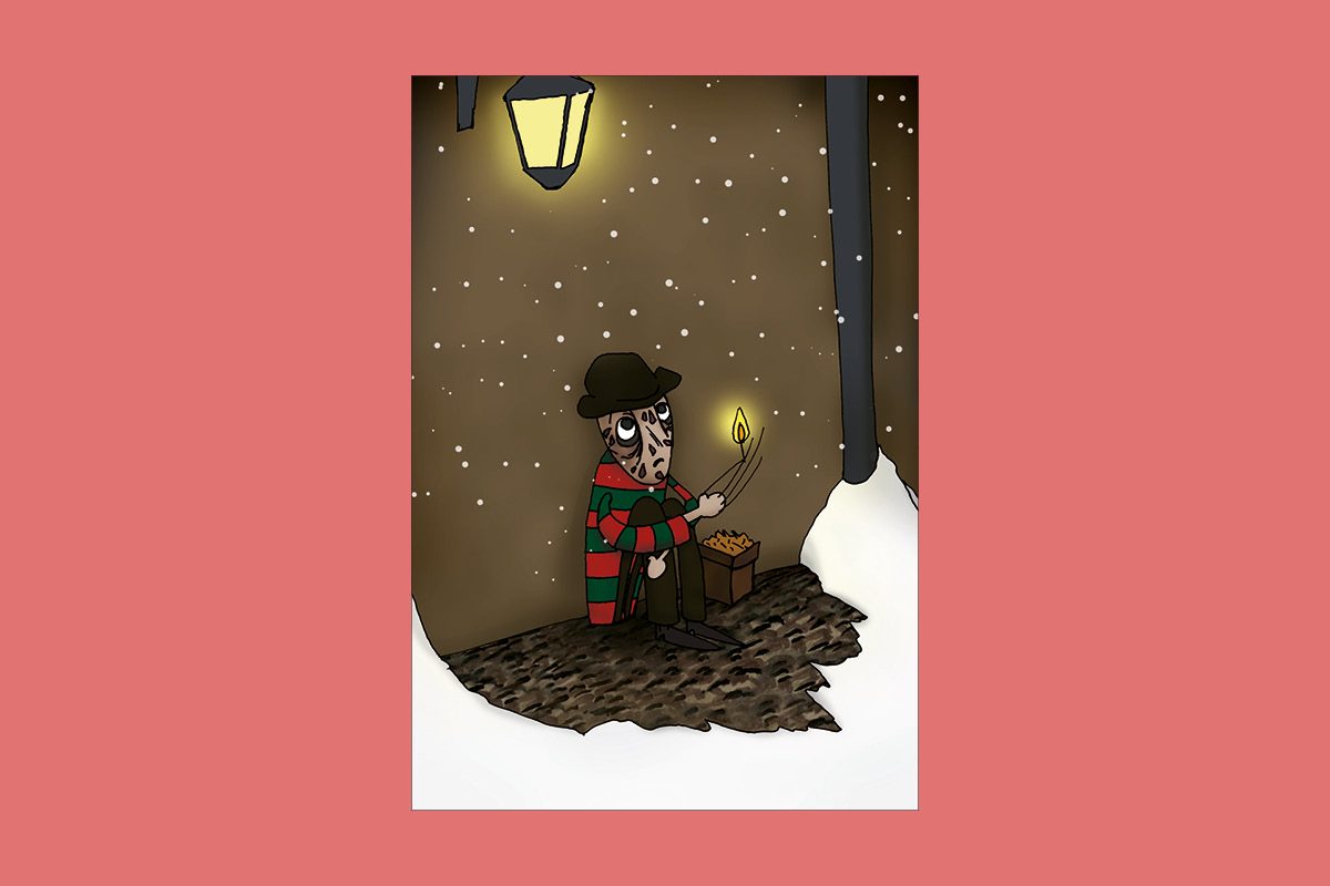 illustration Freddy Krueger